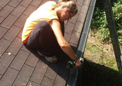 Gutter Cleaning & Repair with Gutter Guards